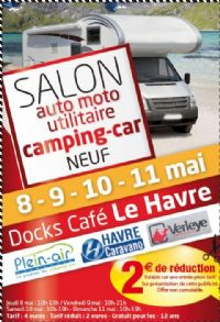 salon auto moto utilitaire camping car du 8 au 11 mai 2014 le havre seine maritime. Black Bedroom Furniture Sets. Home Design Ideas